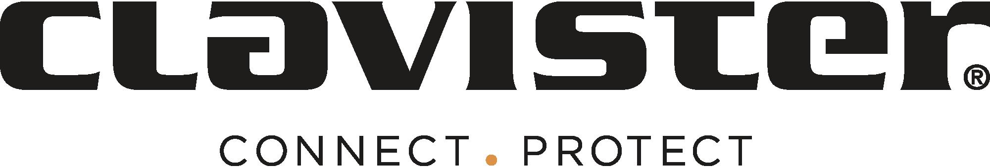Clavister tagline logo black