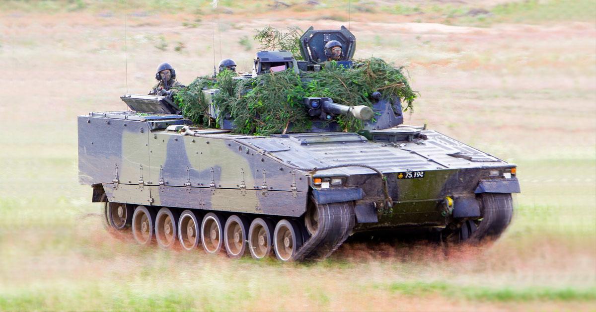 CV90 Swedish Defence